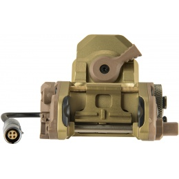 AMA Night Vision Mounting Bracket for Tactical Helmets - DARK EARTH