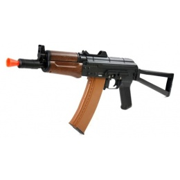DBoys Kalash AK-74UN Full Metal AEG Rifle w/ Folding Skeleton Stock