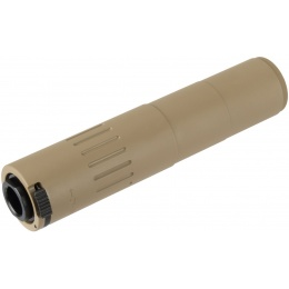 Ranger Armory Full Metal M4 Suppressor w/ Steel Flash Hider - TAN