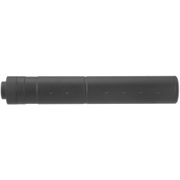 Lancer Tactical 195mm Aluminum Dot Mock Suppressor - BLACK