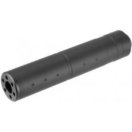 Lancer Tactical 155mm Aluminum Dot Mock Suppressor - BLACK