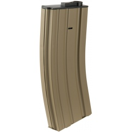 Lancer Tactical Metal Mid-Capacity AEG M4/M16 Magazine - TAN