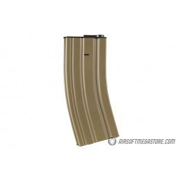 Lancer Tactical Metal Mid-Capacity AEG M4/M16 Magazine - TAN