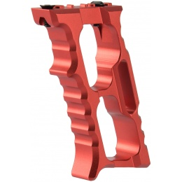 Ranger Armory Aluminum Vertical KeyMod/M-LOK Foregrip - RED