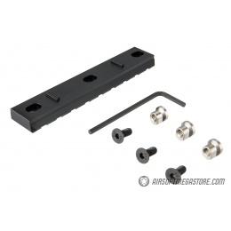 Ranger Armory 3-Slot KeyMod Rail Section - BLACK