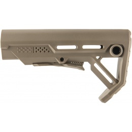 Ranger Armory Collapsible Covert Rear Stock - DARK EARTH