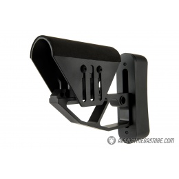 Ranger Armory Lightweight Skelontonized Stock w/ Cheek Riser - BLACK