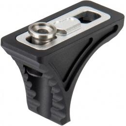 Ranger Armory Aluminum KeyMod Low Profile Handstop - BLACK