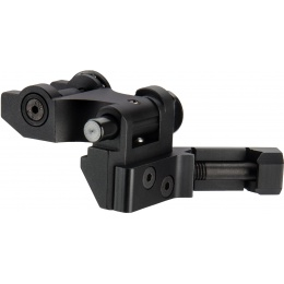 Ranger Armory Full Metal Canted Flip Up Rear Sight - BLACK