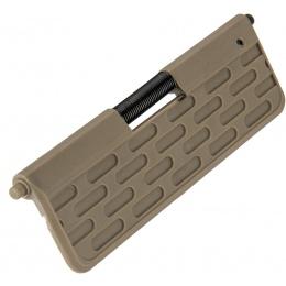 Lancer Tactical Capsule Aluminum M4 Custom Dust Cover - TAN
