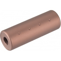 Lancer Tactical Dotted Short Mock Suppressor - BRONZE