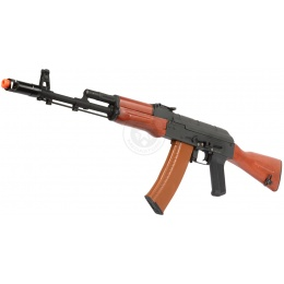 DBoys Airsoft AK-74 Full Metal AEG Rifle w/ Real Wood Rear Stock