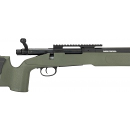 Lancer Tactical M40A3 Bolt Action Airsoft Sniper Rifle - OD GREEN
