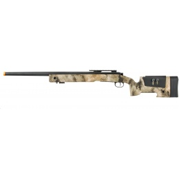 Lancer Tactical M40A3 Bolt Action Airsoft Sniper Rifle - AT-AU