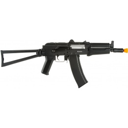 Echo1 Full Metal AK74 CPM Airsoft AEG rifle w/ Folding Stock - BLACK