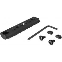 Ranger Armory 7-Slot KeyMod Rail Section - BLACK