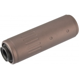Lancer Tactical MK16 Style Short Mock Suppressor - COYOTE BROWN