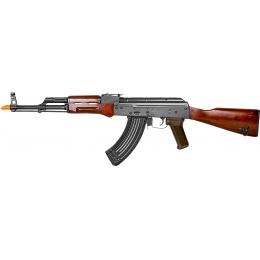E&L AKM Airsoft Real Wood AEG (Platinum) - BLACK
