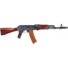 E&L AK74N Real Wood Airsoft AEG (Platinum) - BLACK