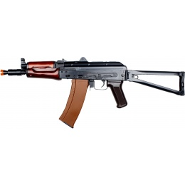 E&L AKS74UN Airsoft AEG w/ Folding Stock (Platinum) - BLACK