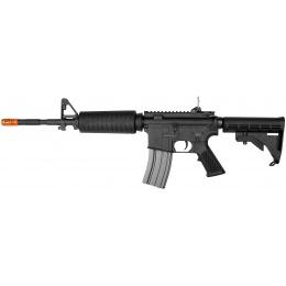 E&L Full Metal AR M4A1 Airsoft AEG (Platinum) - BLACK