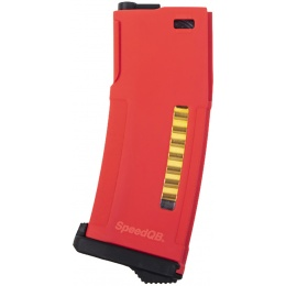 PTS Syndicate SpeedQB EPM Magazine for M4 AEG Rifles - RED