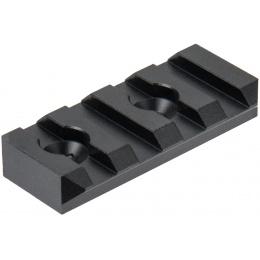 Ranger Armory 4-Slot KeyMod Rail Section - BLACK