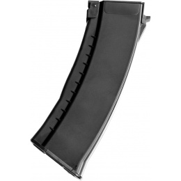 E&L 120rd Airsoft Mid Cap Magazine for AK74 AEG Rifle - BLACK