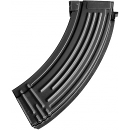 E&L 120rd Airsoft Mid Cap Magazine for AK-47 AEG Rifle - BLACK