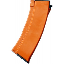 E&L 120rd Airsoft Mid Cap Magazine for AK-74 AEG Rifle - ORANGE