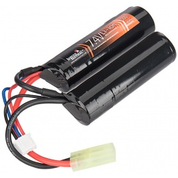 Lancer Tactical 25C 7.4V 2500 mAh Butterfly LiPo Battery