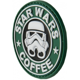 G-Force Coffee Trooper PVC Morale Patch - GREEN