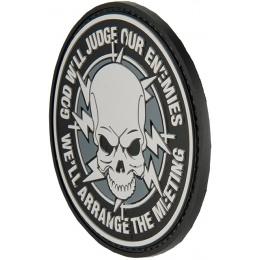 G-Force God Will Judge Our Enemies PVC Morale Patch - BLACK