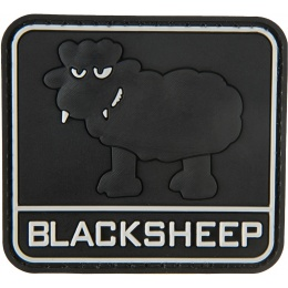 G-Force Big Black Sheep PVC Morale Patch - BLACK