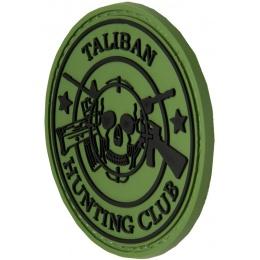 G-Force New Taliban Hunting Club PVC Morale Patch - OD GREEN