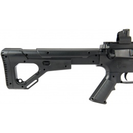 UK Arms P2209 M4 Quad RIS Spring Rifle w/ Adjustable Stock - BLACK