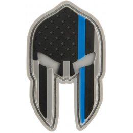 G-Force American Spartan PVC Patch - RED/WHITE/BLUE