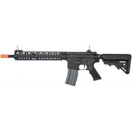 E&L Airsoft M4 MK18 SOPMOD II Airsoft AEG Rifle (Elite) - BLACK