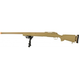 Echo1 M28 Bolt Action Airsoft Sniper Rifle w/ Bipod - TAN