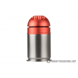 Atlas Custom Works Airsoft Grenade Shell - RED / BLACK
