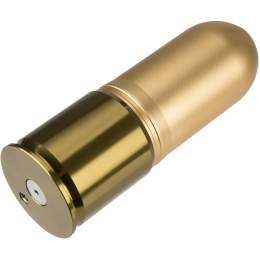 Atlas Custom Works Unicorn 40mm Airsoft Gas Grenade w/ 4 Stoppers - BRONZE