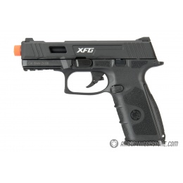 ICS XFG Gas Blowback GBB Airsoft Pistol - BLACK
