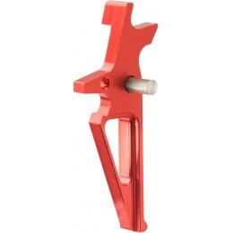 Lancer Tactical Flat Skeletonized AEG Trigger - RED