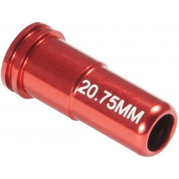MAXX Model CNC Aluminum Double O-Ring Air Seal Nozzle for Airsoft AEG - RED