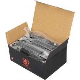 E&L Airsoft 5X 74N Mid-Cap 120Rds AEG Magazine Box Set - BLACK
