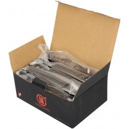 E&L Airsoft 5X 74N Mid-Cap 120Rds AEG Magazine Box Set - BROWN