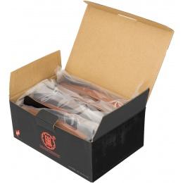 E&L Airsoft 5X 74N Mid-Cap 120Rds AEG Magazine Box Set - ORANGE