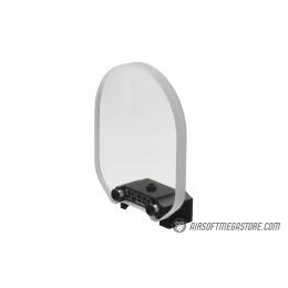 Speed Airsoft Round Optic BB Shield (Medium) - CLEAR