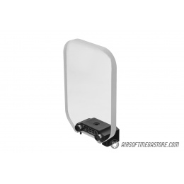 Speed Airsoft Square Optic BB Shield (Large) - CLEAR