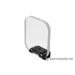 Speed Airsoft Square Optic BB Shield (Medium) - CLEAR
